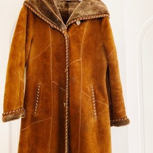 Overland shearling coat